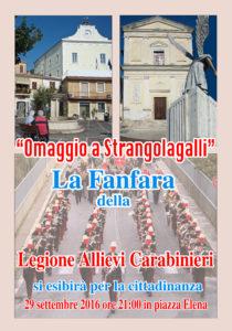 Manifesto fanfara carabinieri